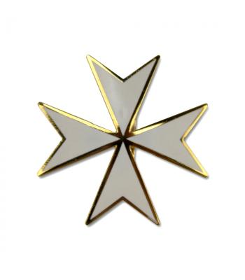 K056 Knights Malta Cap Badge Loose