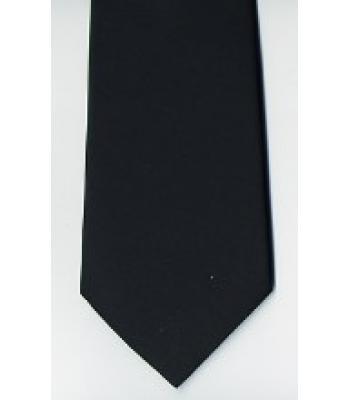 G001 Craft Plain Black Tie