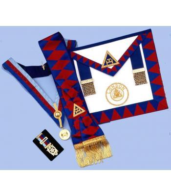 Packagerad1 -  Ra  District Set - Apron, Sash, Collar,jewel & Small Breast Jewel