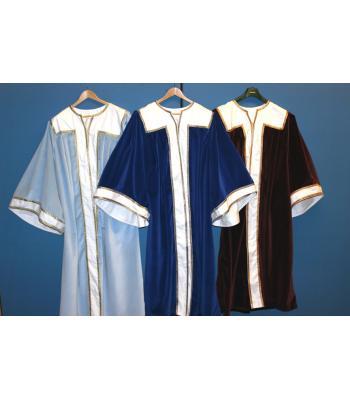 R103 Ra  Robes -velvet - Set Three For Principals